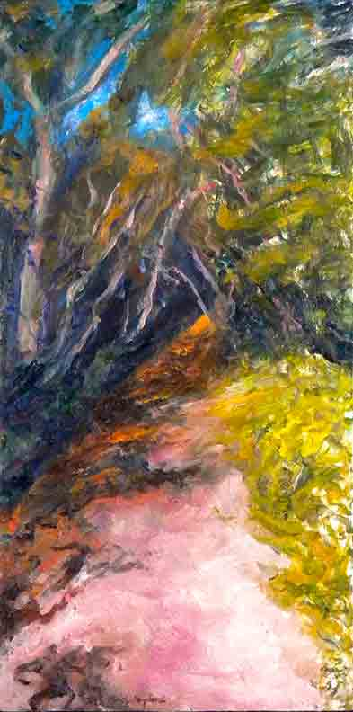 Christy Bergland Maine Landscapes, Path from the Beach #2